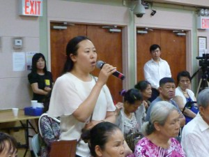 神洲电影《台湾人在大陆》电影首映会观众发言